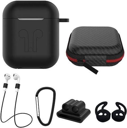 PAT Estuche para Auriculares Juego de 6 Piezas Caja de Almacenamiento Auriculares Bluetooth inalámbricos Apple: Amazon.es: Hogar