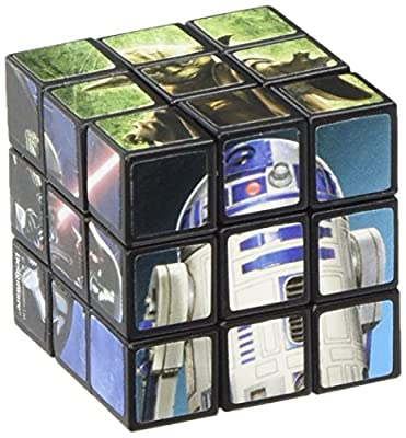 Amscan Legendary Star Wars Classic Mini Puzzle Cube Birthday Party Favor, 1 1/8, Multicolor