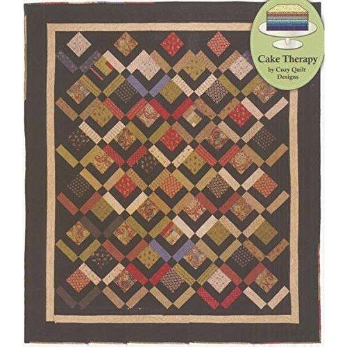 Pattern Cozy Quilt Designs (Three Layer Cake Quilt Pattern by Cozy Quilt Designs)