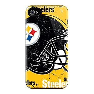 Hot Style YSH3405khVh Protective Cases Covers For Iphone4/4s(pittsburgh Steelers)