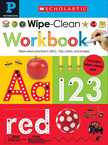 Scholastic Early Learners: Wipe Clean Workbooks: Pre-K