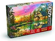 Quebra-cabeças Grow 4000 peças: Refúgio na Montanha (exclusivo Amazon), Multicor