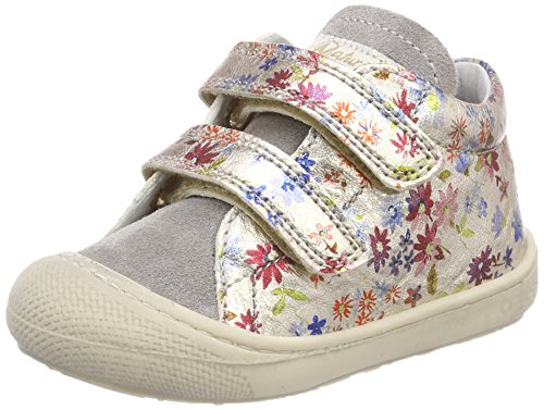 Naturino Baby Mädchen 3972 VL Sneaker Mehrfarbig (Grigio-Platino)