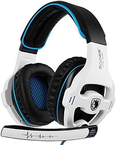 SADES SA810 Gaming Headset Xbox One PS4 auriculares de ...