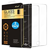 iphone 5 case with display - iPhone 5S Screen Protector,iPhone SE Screen Protector,[2 Pack]by Ailun,2.5D Edge Tempered Glass for iPhone 5/5S/5C/SE,Anti-Scratch,Case Friendly-Siania Retail Package