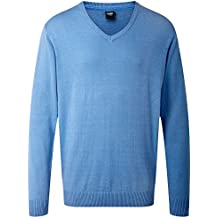 Cotton Traders Mens V-Neck Jumper Sweater Knitwear