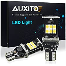 AUXITO 912 921 LED Backup Light Bulbs 1000 Lumens High Power 2835 15-SMD Chipsets Extremely Bright Error Free T15 906 W16W for Back Up Lights Reverse Lights, 6000K White (Upgrade Version,Pack of 2)