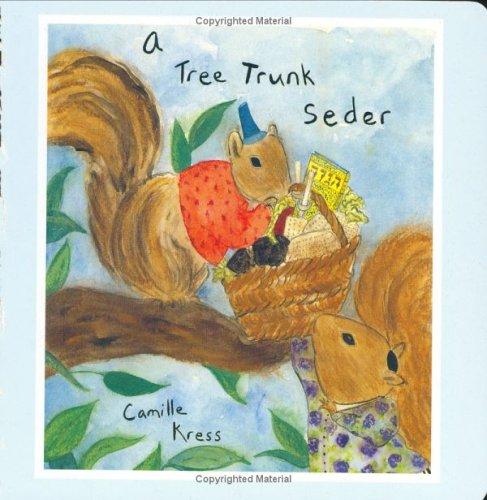 A Tree Trunk Seder