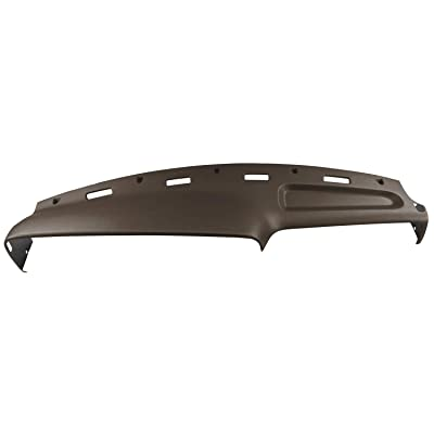 Dash Skin Molded Dash Cover Compatible With 94-97 Dodge Ram In Saddle (Dark Brown)