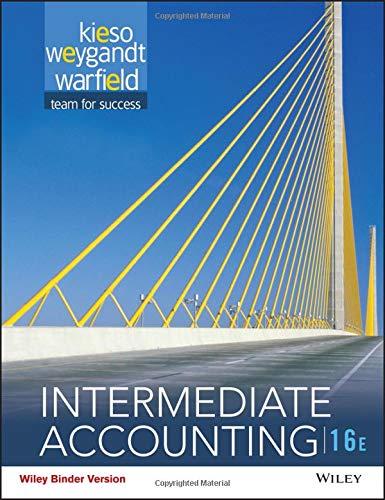 (Intermediate Accounting, Binder Ready Version)