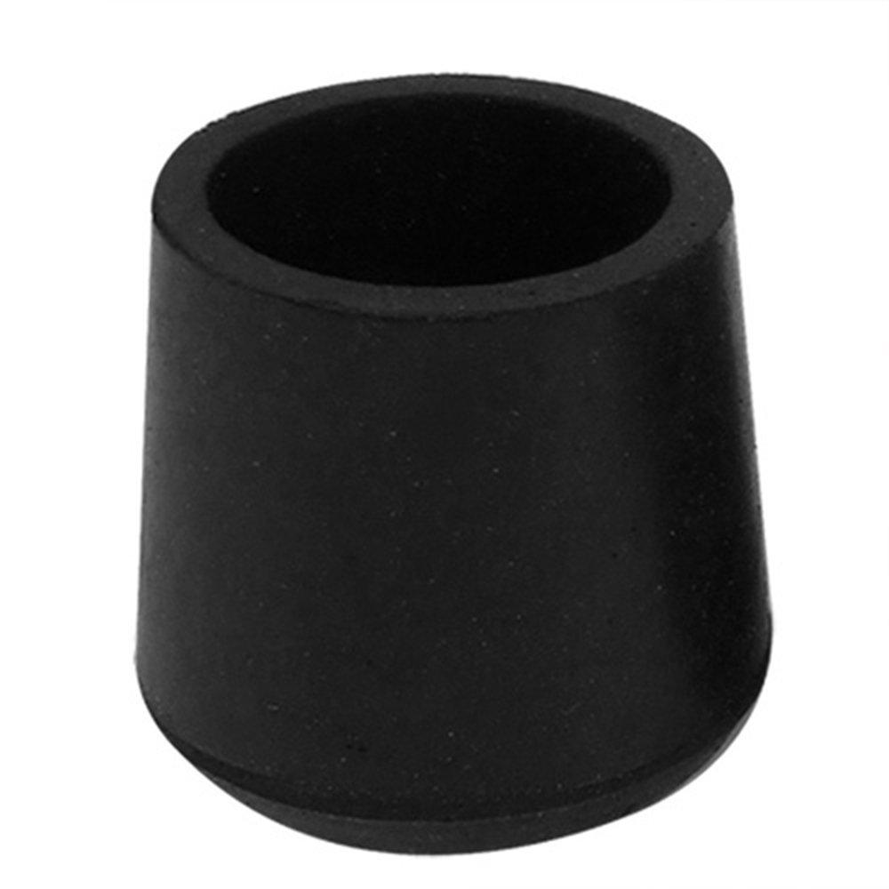 Aofocy Couvre-Pied Embout Meuble Pied De Table Protecteur Circulaire en Caoutchouc De 28 mm De Diamè tre 4 piè ces