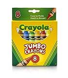 Crayola Jumbo Crayons - 8 ct Deal (Small Image)