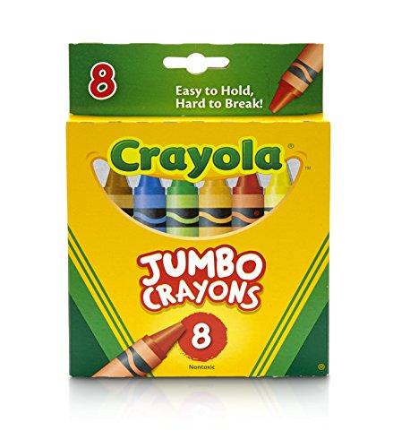 (Crayola Jumbo Crayons  - 8 ct)