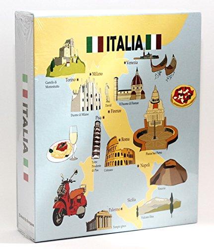 Italy Embossed Photo Album 100 Photos /4x6 NEW