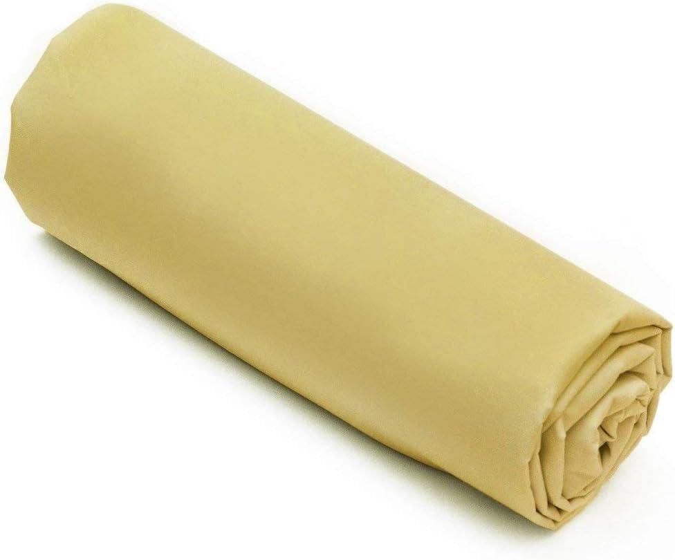 L22G Drap Housse Percale 100/% Coton 80Fils cm/² par Lot de 6 90X190 cm Bonnet 25 cm