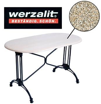 Amazonde Werzalit Gastronomie Tischplatte Granit 120x65cm