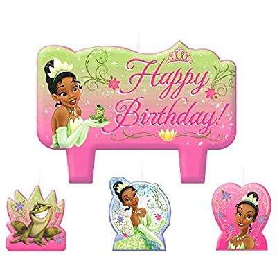 Candle Set | Disney Tiana Enchanted Collection | Birthday: Toys & Games