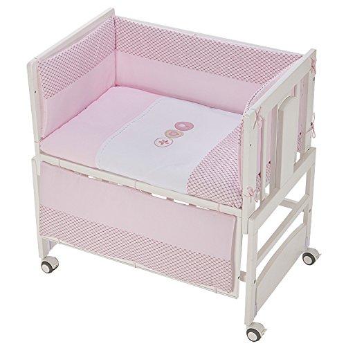 Kinderbett, Co-Sleeping Allegra mit Motte Bianca