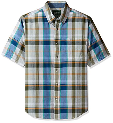 Mens Warehouse Clothing Store (Woolrich Men's Timberline Shirt, Coastline, Small)