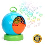 Kemuse Automatic Bubble Machine for Kids 500 Bubbles per Minute, Durable Bubble Maker, Easy to Use for Christmas, Parties, Wedding