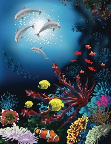 Underwater World Sketchbook: Blank Art Sketch Pad Journal Notebook (Under the Sea 150 Sketch) (Volume 11)