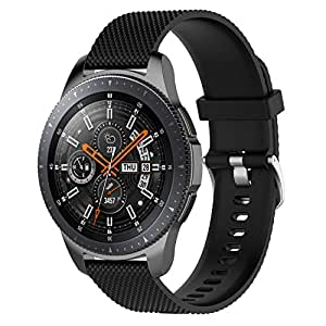 Amazon.com: XIHAMA Band for Samsung Gear S3 Froniter, Strap ...