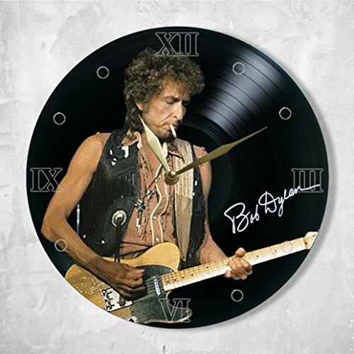 SofiClock Bob Dylan Vinyl Clock Painted 12