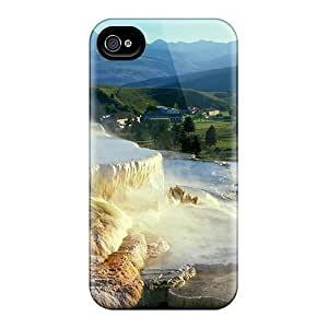 Anti-scratch And Shatterproof Waterfalls Wallpaper Salt Water Phone Cases For Iphone 6/ High Quality Cases