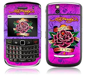 MusicSkins, MS-EDHY10139, Ed Hardy - Dedicated, BlackBerry Bold (9650), Skin
