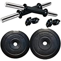 Protoner PVC Adjustable Dumbbell Set, 10kg