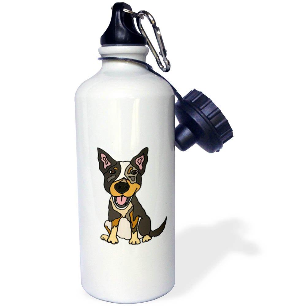 3D Rose wb/_256472/_2 Flip Straw Water Bottle 21 oz