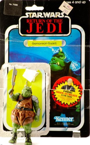 (1983 - Kenner - Star Wars - Return of the Jedi - Gamorrean Guard Action Figure & Card - Mint Toy / Rare - Out of Production - Limited Edition - Collectible)