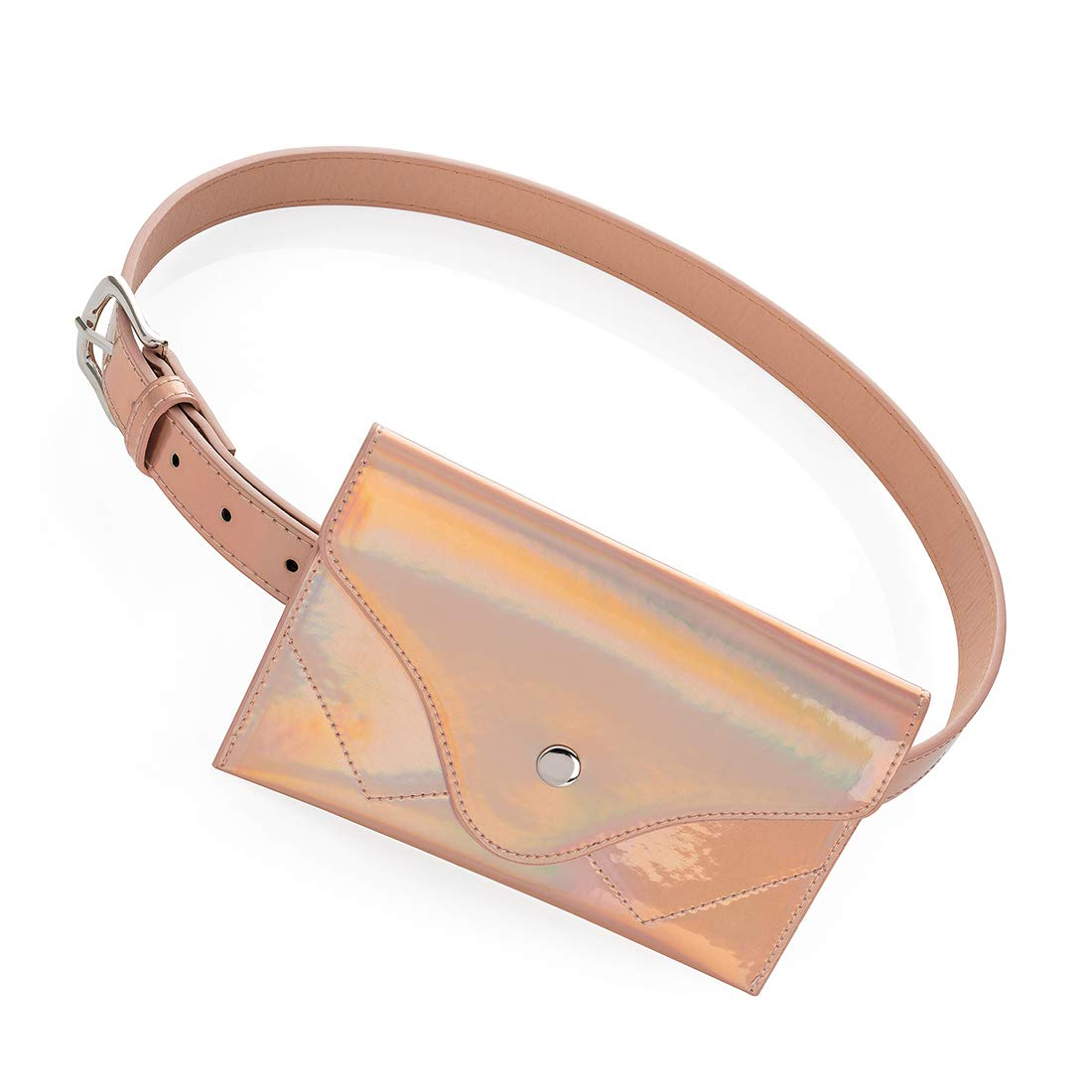 All Accessories Multifunctional Adjustable Travel Friendly Holographic Mini  Fashion Waist and Fanny Pack Belt Bag with fdcb6ecb251f4