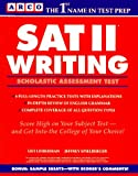 SAT II Writing, Leo Lieberman and Jeffrey Spielberger, 0671864009