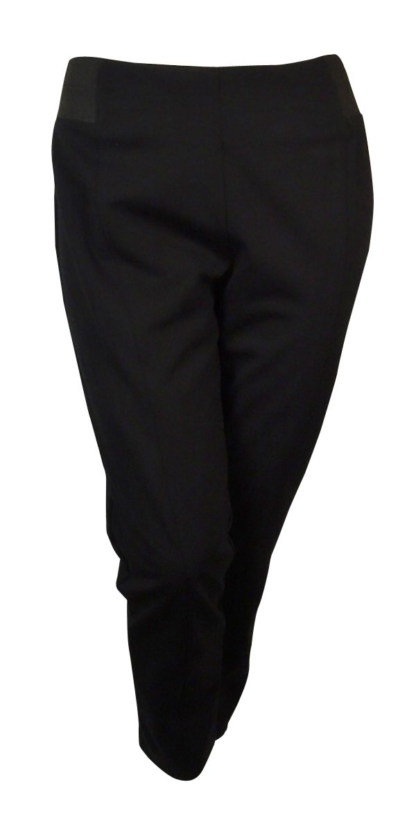 Style & Co. Women's Pull-On Skinny Comfort Waist Pants (P, Deep Black)