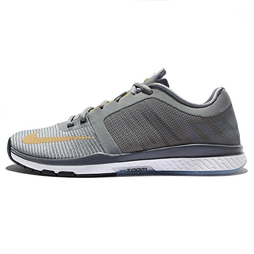 Nike Mens Zoom Speed TR3, Cool Grey/Metallic Gold-wolf Grey-white, 44.5 unknown EU/9.5 unknown UK