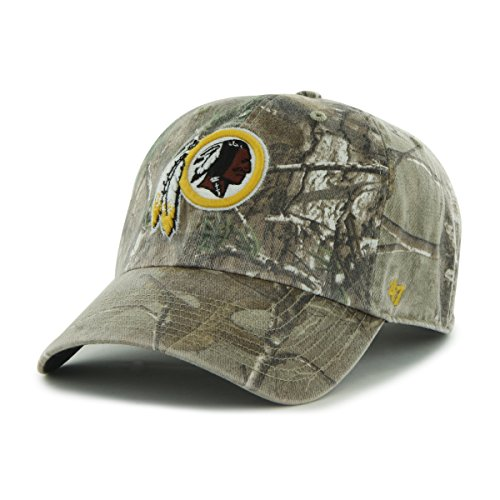 more photos 5ce6a fcf4a NFL Washington Redskins  47 Brand Big Buck Clean Up Adjustable Hat  (Realtree Camouflage, One Size) - Buy Online in Oman.   Sports Products in  Oman - See ...
