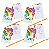 Fun Express Unicorn Spiral Notepads - 24 ct