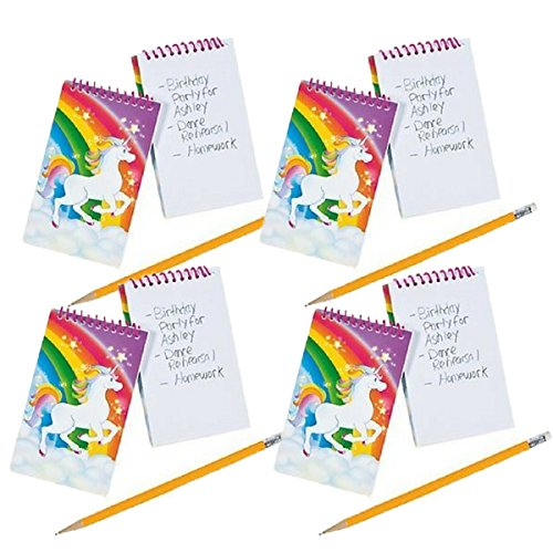 Fun Express Unicorn Spiral Notepads - 24 ct by Fun Express
