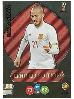 Adrenalyn XL FIFA World Cup 2018 Rusia – Bernardo Silva Premium Tarjeta de Comercio de edición Limitada – Portugal: Amazon.es: Deportes y aire libre