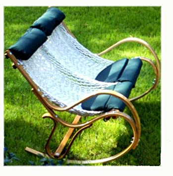 Pawleys Island Double Polyester Rope Sling Rocker (Discontinued By  Manufacturer)