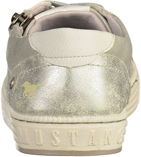 Silber up Lace Mustang 304 Flats 1246 Womens UPcaRwA