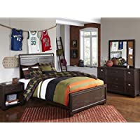 Pulaski Clubhouse Youth 4 Piece Bedroom Set, Full