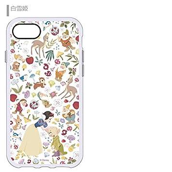 f5570f952d 【カラー:アリエル】iPhone8 iPhone7 iPhone6S 6 ディズニー プリンセス イーフィット ケース ソフトケース ソフト ハード  キャラクター シリコン アリス アリエル ...