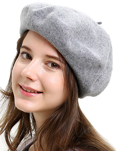 women s 100 percent wool french beret