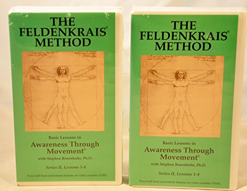 Method 2 Video Set Vhs (Awareness Through Movement - The Feldenkrais Method -Series II - 2 tape set - Lessons 1 through)