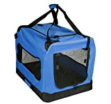"Mr. Peanut's® Deluxe Soft Sided Dog House Style Pet Carrier Crate * Available as 20, 24, 28 & 32"" * Designed for Pet Comfort with Fleece Bedding * Not For Airline Use (Medium 23.6"" x 16.5"" x 16.5"")"