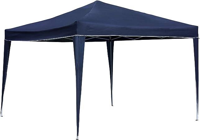 Carpa instantánea para camping / barbacoa plegable 3x3 m - azul: Amazon.es: Jardín