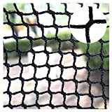 ERGDFH Protective Netting,Stair Net Netting Black