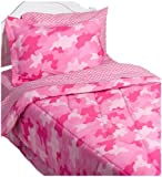 InStyle Camo Pink Full Bed Set